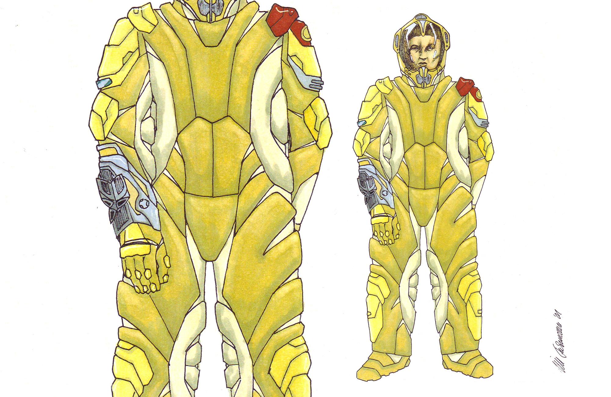 Ice Planet - Costume Design
